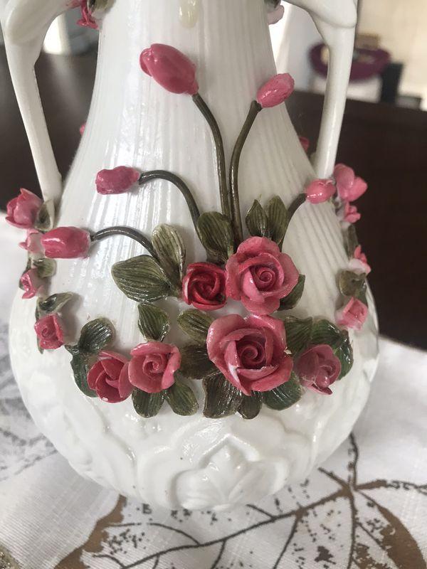 Beautiful 10 inch glazed ceramic rhombus