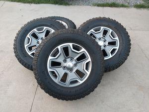 "2016 JEEP Wrangler Wheels 17"" 5x5 OEM for Sale in Ontario, CA"
