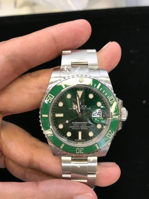 Submariner(date)- Stainless Steel Green-Automatic-116610LV for Sale in New York, NY