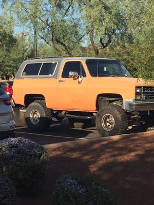 1987 Chevy Blazer K5 for Sale in Chandler, AZ