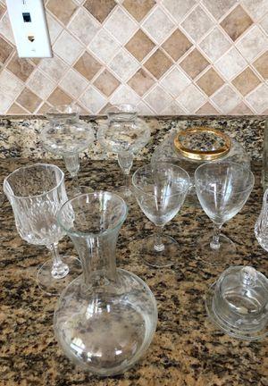 Princess House glassware for Sale in Zephyrhills, FL