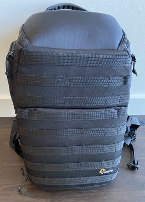 Lowerpro ProTactic 450 AW Camera and Laptop Backpack - Black for Sale in Bellevue, WA