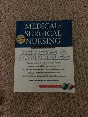 Prentice Hall Nursing Reviews & Rationales: Medical-Surgical Nursing for Sale in Fort Lauderdale, FL