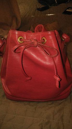 LOUIS VUITTON EPI NOE RED HOBO BAG for Sale in Henderson, NV