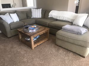 Sectional couch must go by tomorrow! for Sale in Enumclaw, WA