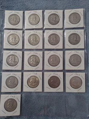 Franklin silver half dollars for Sale in Appomattox, VA