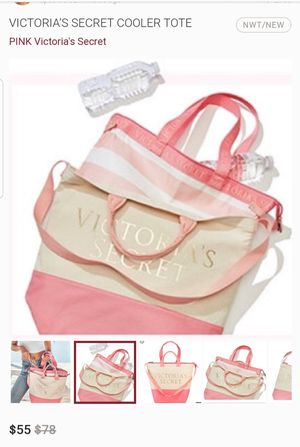 Victoria's secret tote bag and cooler for Sale in Cypress Gardens, FL