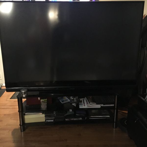 82 Inch Mitsubishi TV - About 10 Years Old