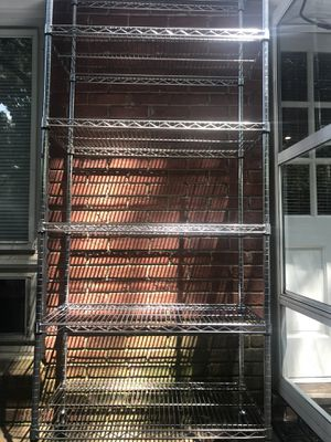Metal Shelve Metro 7' for Sale in Charlotte, NC