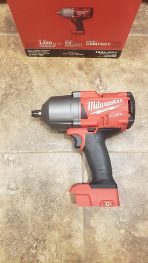 Milwaukee M18 FUEL 18-Volt Lithium-Ion Brushless Cordless 1/2 in. Impact Wrench with Friction Ring (Tool-Only) for Sale in Corona, CA