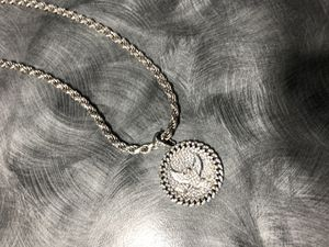 Eagle Pendant and Silver Necklace for Sale in Suwanee, GA