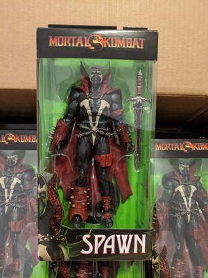 "McFarlane Toys Mortal Kombat 7"" Spawn Deluxe Figure for Sale in Fort Lauderdale, FL"