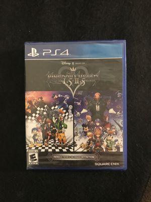 ps4 game HD kingdom hearts I•5+II•5 for Sale in Phoenix, AZ