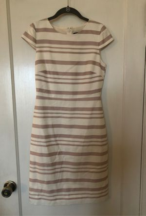 J. Crew size 2 pink stripes dress for Sale in San Leandro, CA