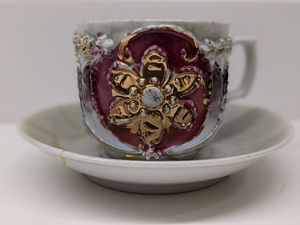 Vintage bone china teacup for Sale in Arlington Heights, IL