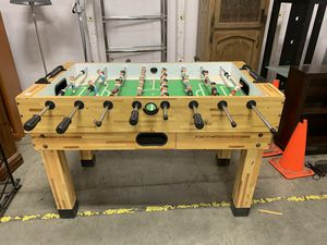 Foosball table – excellent condition and retails for $500 for Sale in Portland, OR