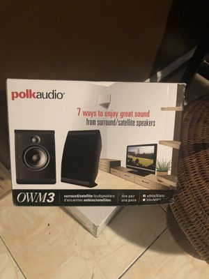 Speakers Polk Audio for Sale in District Heights, MD