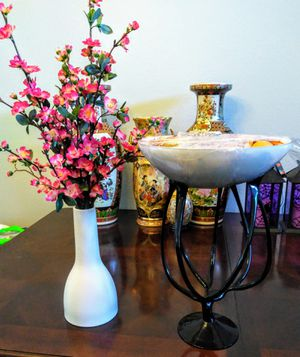 Cherry blossoms Flower Vase / Potpourri Vase for Sale in Federal Way, WA