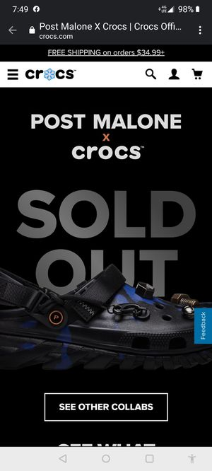 Post malone Crocs for Sale in Lehigh Acres, FL