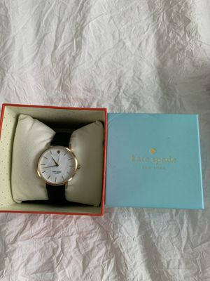 Kate Spade black gold pearl face watch for Sale in Washington, DC