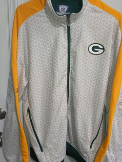 Green Bay Packers Mens Track Jacket - Size Large - NFL Authentic Reebok for Sale in Lawrenceville,  GA