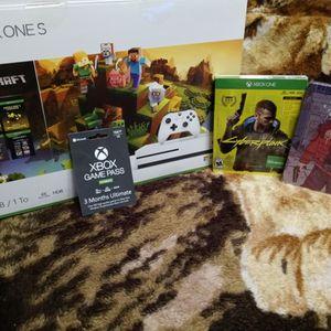 Xbox one s minecraft Brand New 1 TB for Sale in Cranston, RI