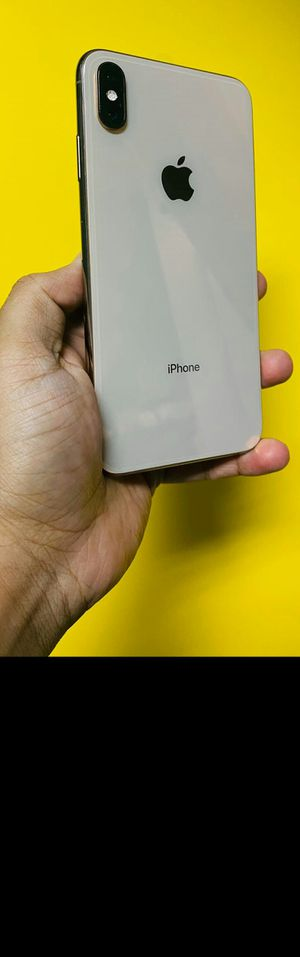 iPhone XS MAX 256gb Gold Unlocked (finance for $50 down, no credit needed) $650 for Sale in Carrollton, TX