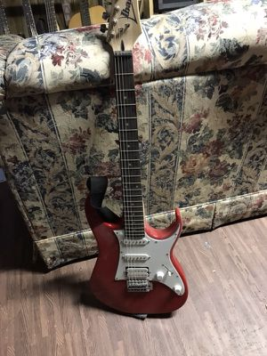 Ibexes electric guitar with hard case for Sale in Viola, IL