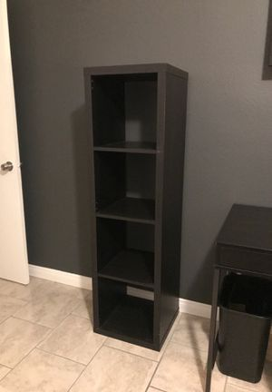 Black Bookshelf with 4 Shelves for Sale in Brea, CA