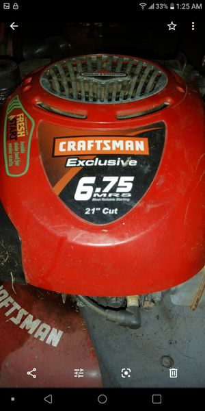 Craftsman 6.75 hp self driven for Sale in HAINESPRT Township, NJ