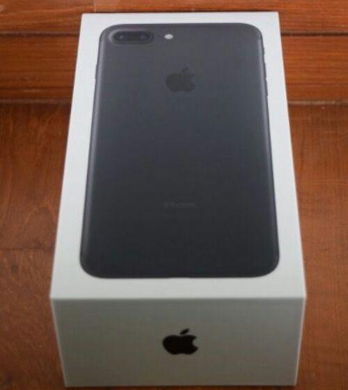 Iphone 7 plus matt black 32gb brand new