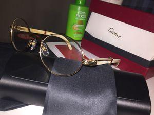 68bfc51fd952 Cartier glasses sunglasses white clear lenses for Sale in Palo Alto