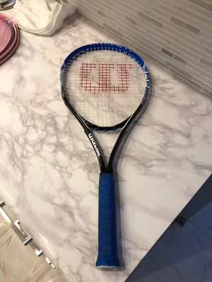 Blue Wilson tennis racket volcanic frame power bridge for Sale in Fort Lauderdale, FL