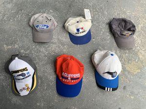 Hats lot of 6 strapback snapback for Sale in Orlando, FL