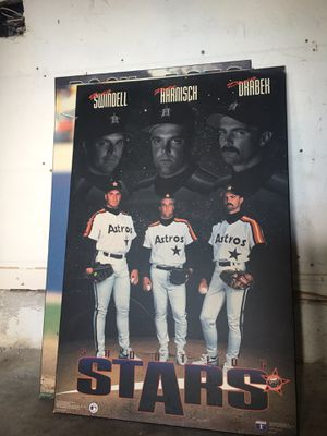 Shooting Stars Collectible Poster Baseball card for Sale in Sunrise, FL