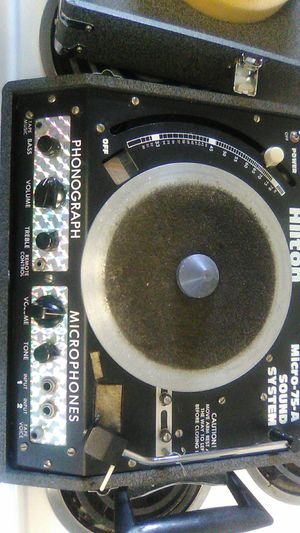 Retro 80s dj rap hip hop record player mixer for Sale in Dublin, OH