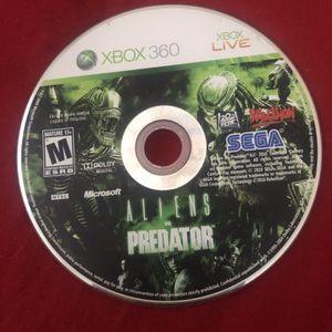 Aliens Vs Predator Xbox 360 for Sale in Pompano Beach, FL