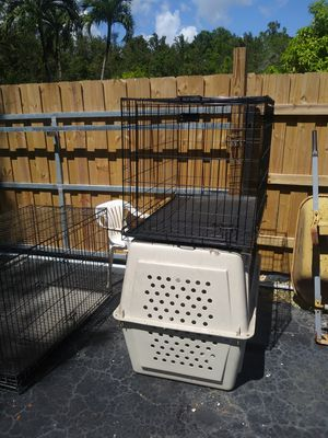 3 large dog kennels for Sale in Miami, FL