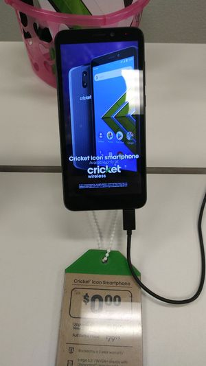 Cricket Icon Smartphone for Sale in Wichita Falls, TX