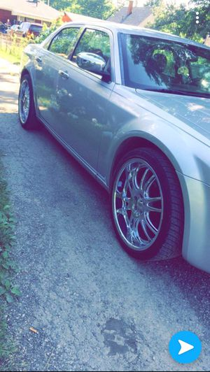 22 inch rims for sale with tires not car just rims for Sale in Columbus, OH