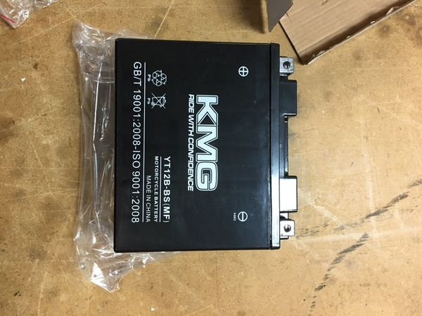 Kawasaki Motorcycle Battery -New