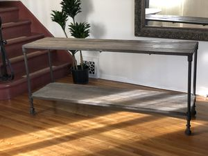 Restoration Hardware Dutch Industrial console for Sale in West Hollywood, CA