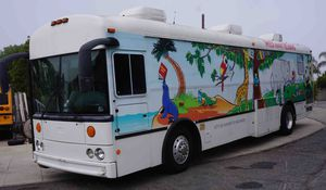 Thomas Bus 36' with a Generator - CNG Fuel for Sale in Upland, CA