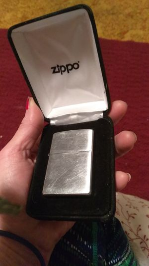 Zippo Lighter in case $30 for Sale in Carmichael, CA