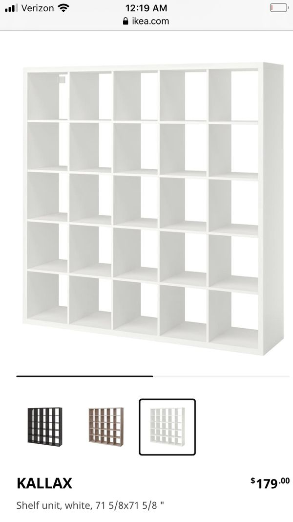 KALLAX Shelf unit, white 25 cube