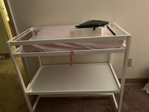 Changing table with changing pad for Sale in Imperial, PA