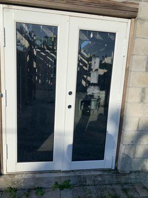 Exterior metal hurricane doors. for Sale in Boynton Beach, FL