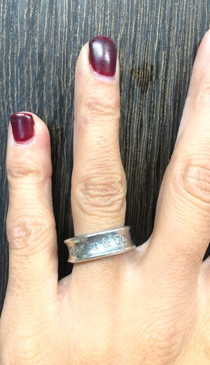Tiffany & Co sterling silver ring. Size 5 for Sale in San Diego, CA