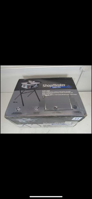 Delta Shopmaster 10 in. 15 Amp Table Saw with Stands for Sale in Whittier, CA
