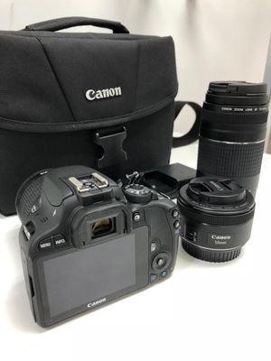 Canon Rebel SL1 kit with 3 lenses for Sale in Coral Springs, FL